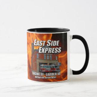 Ostseiten-Eilwecker-Tasse (Flammen) Tasse