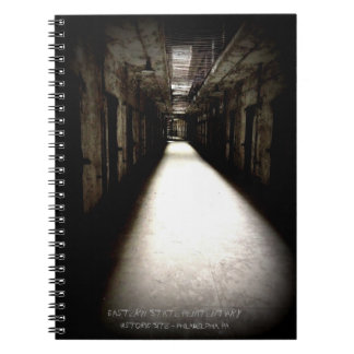 OstStaats-Gefängnis-Korridor Spiral Notizblock