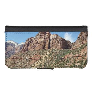 Osttempel Zion Nationalpark Utah iPhone SE/5/5s Geldbeutel Hülle