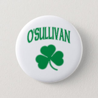 O'Sullivan-Iren-Kleeblatt Runder Button 5,7 Cm