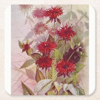 Oswego-Tee botanischer Rechteckiger Pappuntersetzer