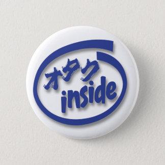 Otaku nach innen runder button 5,1 cm