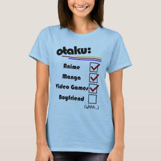 Otaku (weibliche Version - Mann verfügbar) T-Shirt