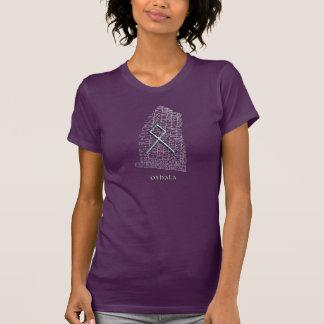 Othala Runesymbol, auf WestRok runestone T-Shirt