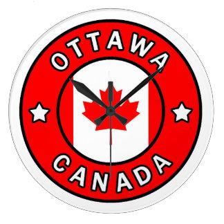 Ottawa Kanada Große Wanduhr