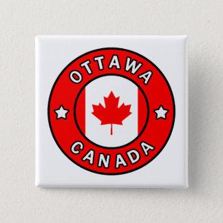 Ottawa Kanada Quadratischer Button 5,1 Cm