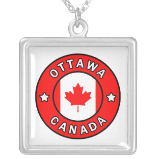 Ottawa Kanada Versilberte Kette