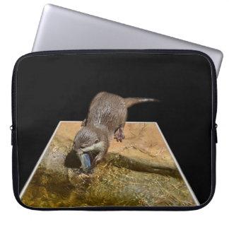 Otter, der geschmackvolle Fische isst, Laptopschutzhülle