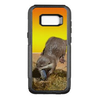 Otter, der Otterly köstliche Fische isst, OtterBox Commuter Samsung Galaxy S8+ Hülle
