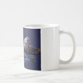 Otter-Familien-Freude Kaffeetasse