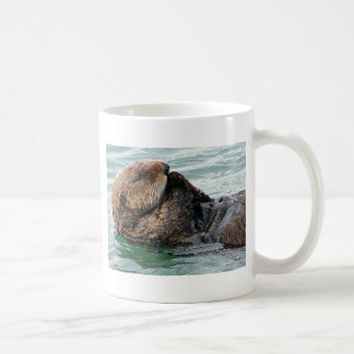 Otter im Gebet Kaffeetasse