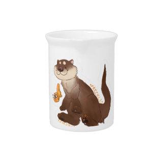 Otter n Goldfisch Getränke Pitcher