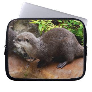Otter warteten geschmackvolle Fische, Laptopschutzhülle