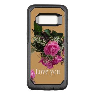 Otterbox Fall mit Liebe, die Sie entwerfen OtterBox Commuter Samsung Galaxy S8 Hülle