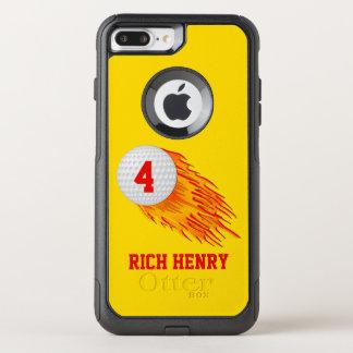 OtterBox Golf iPhone Fall Ihr Text und Farben