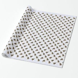 Otterhound-Geschichtsentwurf Geschenkpapier