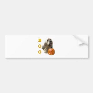 Otterhound-HalloweenBOO Autoaufkleber