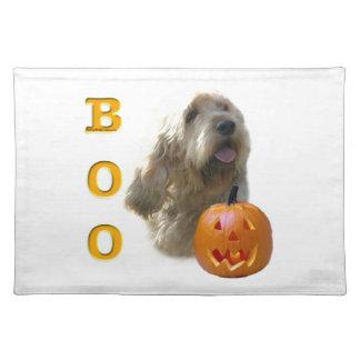 Otterhound-HalloweenBOO Tischset