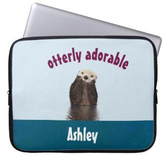 Otterly entzückendes Wortspiel mit niedlichem Laptopschutzhülle