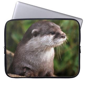 Otternahaufnahme Laptopschutzhülle