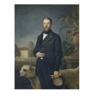 Otto von Bismarck, c.1850 Postkarte