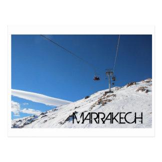 Oukaymden Marrakesch Postkarte