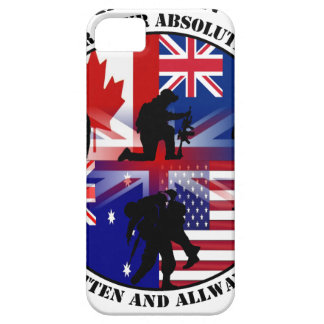 Our Afghanistan Veterans 5 Nations iPhone 5 Etui