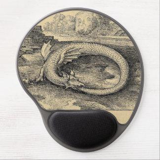 Ouroboros Drache, der es beißt, ist, Schwanz zu Gel Mousepad