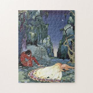 Ourson und Violette durch Virginia Frances Puzzle