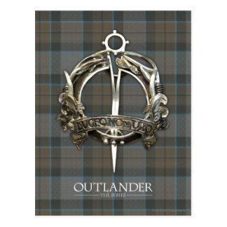 Outlander | die der Mackenzie-Clan-Brosche Postkarte