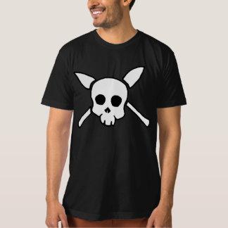 Outlander-Schädel-Schwarz-T - Shirt
