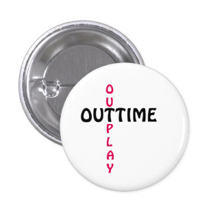 outtime - outplay runder button 3,2 cm
