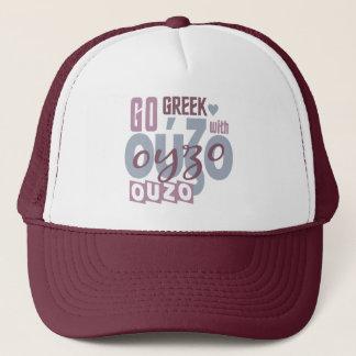 Ouzo Hut - wählen Sie Farbe Truckerkappe