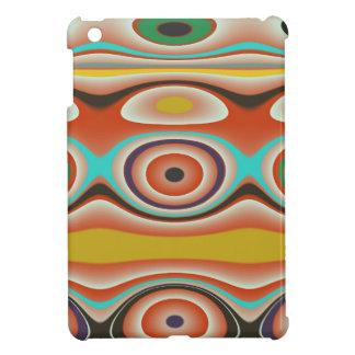 Oval-und Kreis-Muster-Entwurf in südwestlichem iPad Mini Hülle