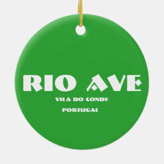 Ovale Keramik-Verzierung Rio-Allee Keramik Ornament