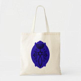 Ovale messianische Symbol-Tasche