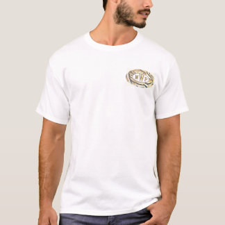 Ovale Streifen T-Shirt