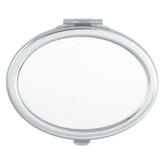 Ovaler kompakter Spiegel Taschenspiegel
