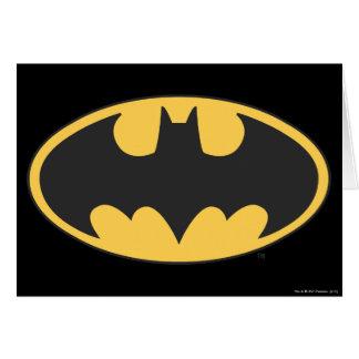 Ovales Logo Batman-Symbol-  Karte
