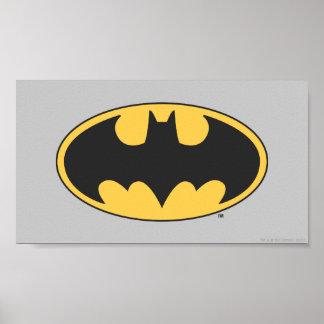 Ovales Logo Batman-Symbol-| Poster