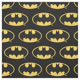 Ovales Logo Batman-Symbol-| Stoff