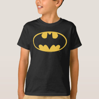 Ovales Logo Batman-Symbol-| T-Shirt