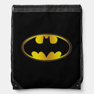 Ovales Steigungs-Logo Batman-Symbol-| Turnbeutel