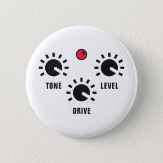overdrive runder button 5,7 cm
