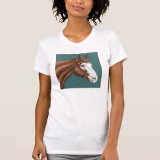 Overo Farben-PferdeT - Shirt