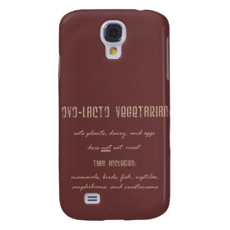 Ovo-Lacto Vegetarier Galaxy S4 Hülle