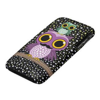 owling Eulen des Schnurrbartes Case-Mate iPhone 3 Hülle