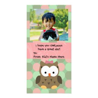OWLways Valentinstag scherzt Valentinsgruß Fotokartenvorlagen