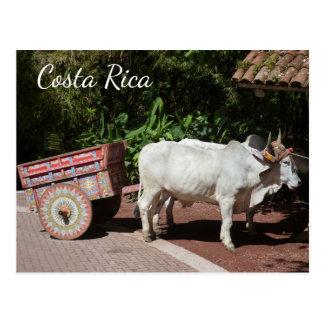 Oxcart, Costa Rica-Postkarte Postkarte