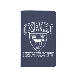 Oxfart HochschulWappen Taschennotizbuch